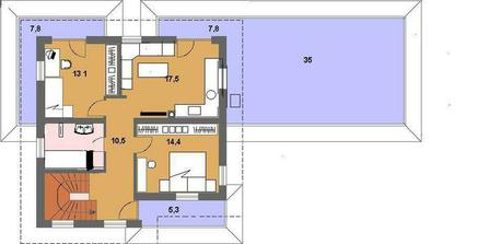 2,5 izb. byt na poschodi