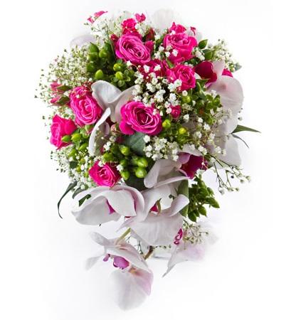 Čo na ňu hovoríte? Ruža + orchidea  http://www.hydroflora.sk/e-shop/rezane-kvety/svadobne-kytice/kytica-z-orchidei-a-ruzi.html - Obrázok č. 2