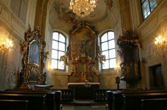 Misto obradu - kaple Libenskeho zamku