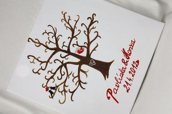 Svatební strom pro kamarádku