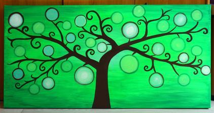 Svatební strom na objednávku