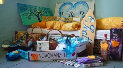 ...a vše je pěkně připraveno i s popisky v mém modrém pokojíku:-)