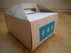 Na výslužkových krabičkách přece nesmí chybět panáčci:-)