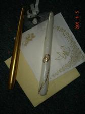 Bielo - zlatá kompletka