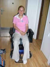 moj novy elektricky vozicek
