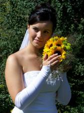 snad se nevěsta neurazí...má krásnou kytí