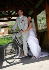 první rande bylo na kole a druhé rande...to jsem ho vzala rovnou do Alp