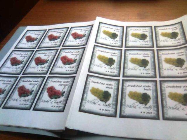 4.september 2010 sa blíži :-)) - natlačené vinetky na vína
