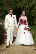 čerství novomanželé