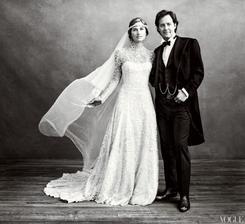 Lauren Bush a David Lauren (2011)