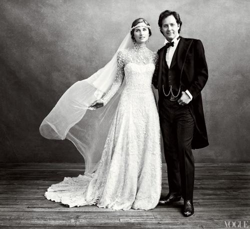 Svatby slavných - Lauren Bush a David Lauren