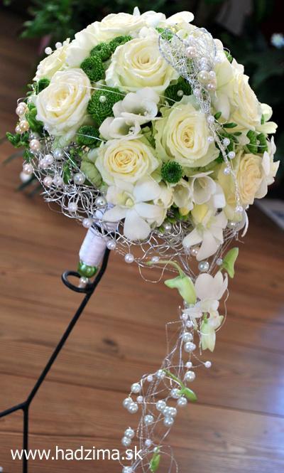 Naše začiatky príprav - Silvia a Janko - moja svadobna kyticka:-)