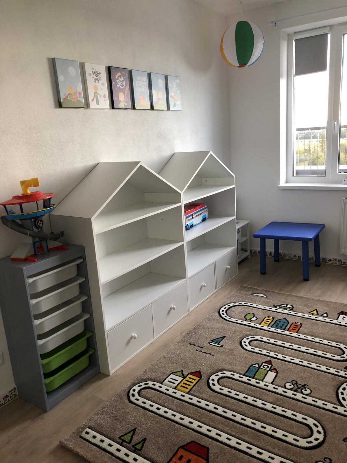 Náš bytík na streche - detská izba