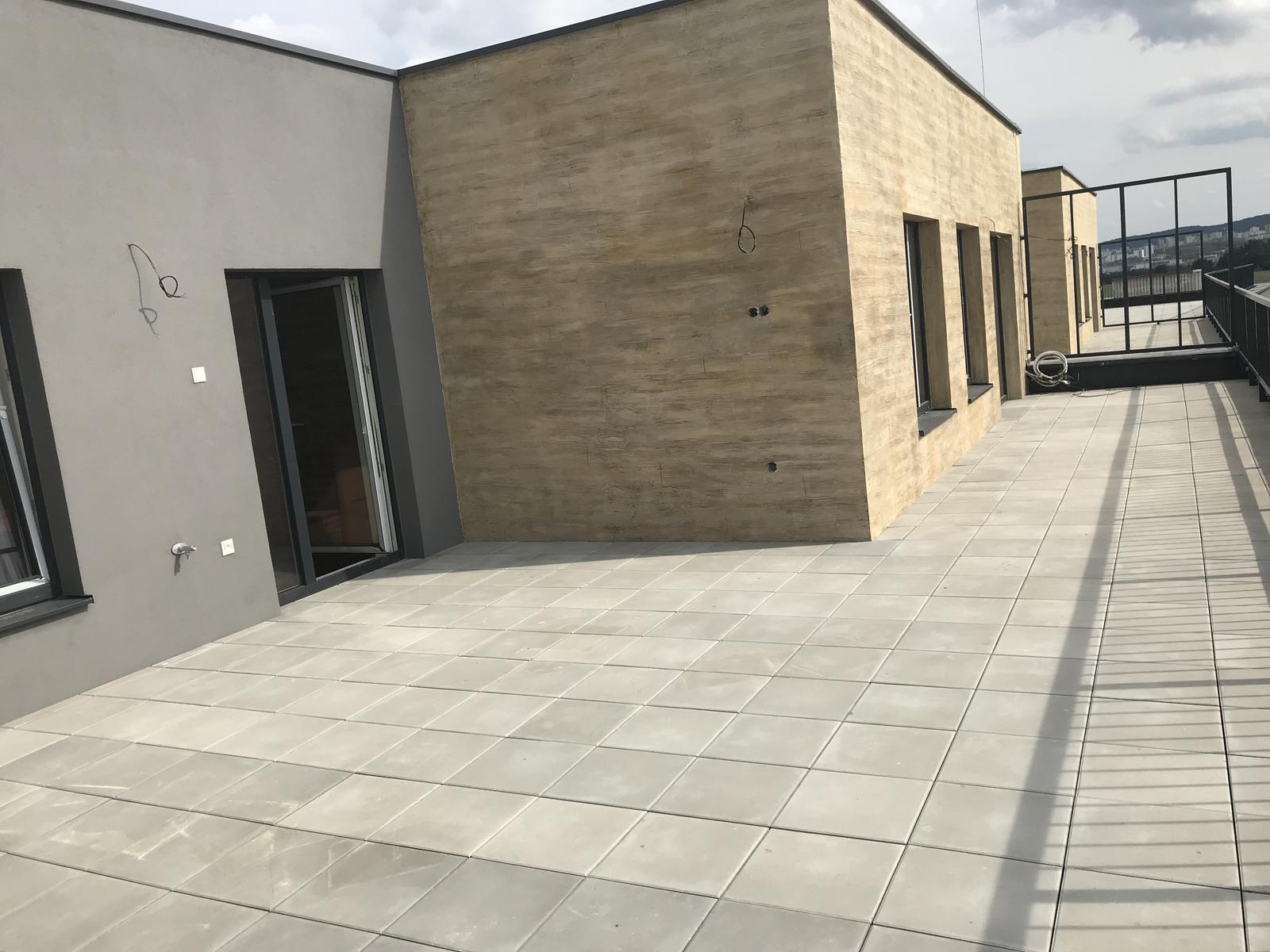Náš bytík na streche - Naša terasa