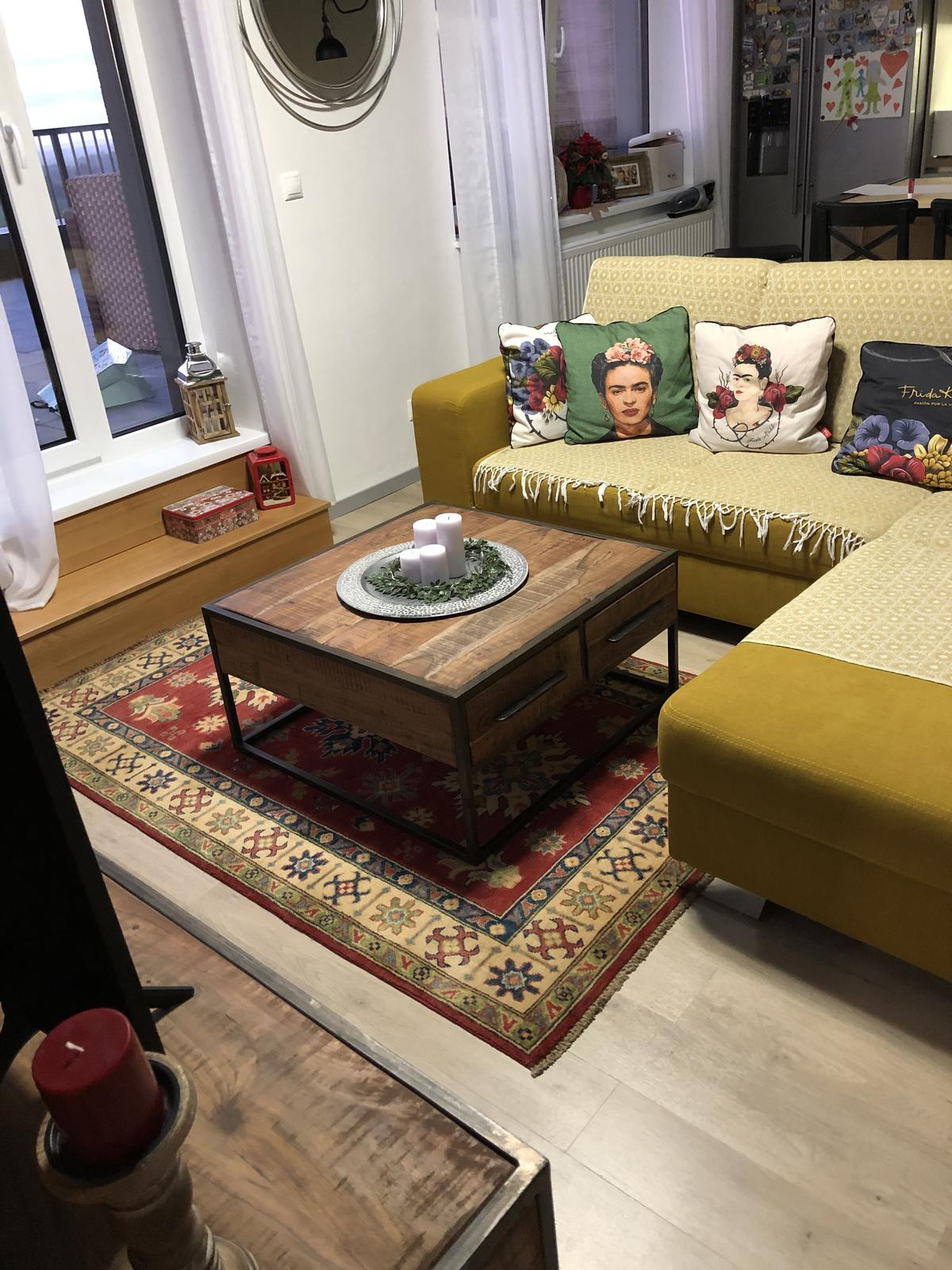 Náš bytík na streche - Môj predčasný Vianočný darček.....pravý persky koberec