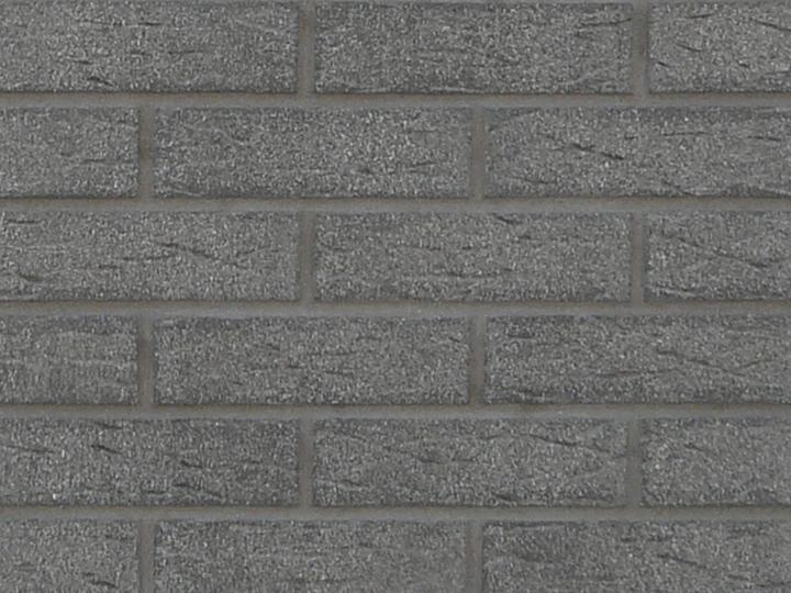 Šedé a čierne tehlové obklady - Feldhaus 735 /tmavošedá špárovka  (pálená hlina)