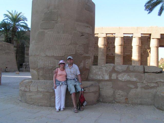 Katka{{_AND_}}Vladko - Luxor - Karnak