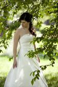 prekrásne svadobné šaty, 40
