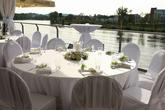 Svatební hostina - kulaté stoly