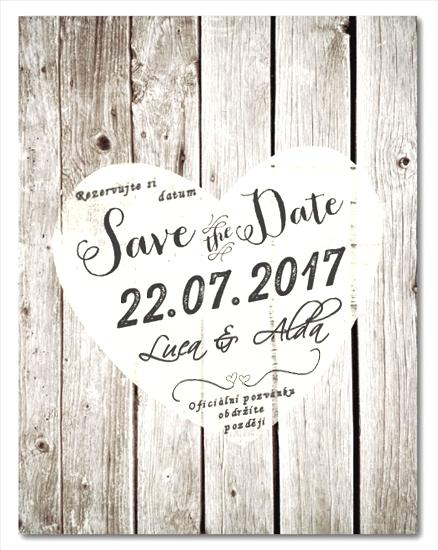 A + L ❤ Chystáme :) - Save the date :)