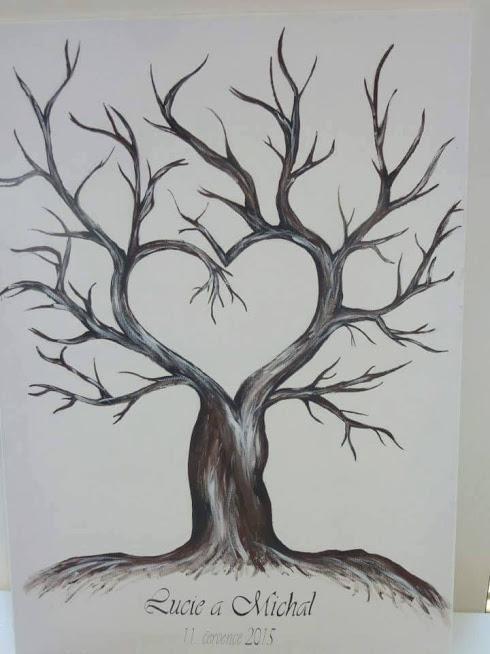 Kamarádka už mi maluje strom :)