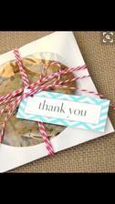 Budou sušenky pro každého hosta :)