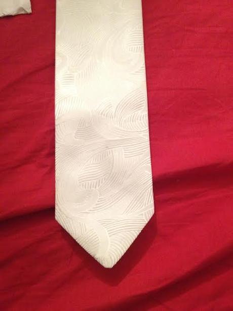 Francúzska kravata s vreckovkou Ozeta - Obrázok č. 2