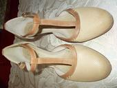 Celokožené topánky Baťa, 39