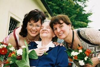 S maminkou a babičkou