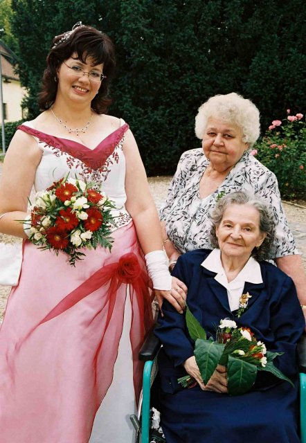 S babičkou a Jaruškou