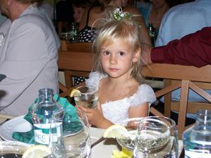 moje nejmladší sestřička Nelinka