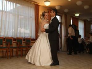 Náš prvý manželský tanček