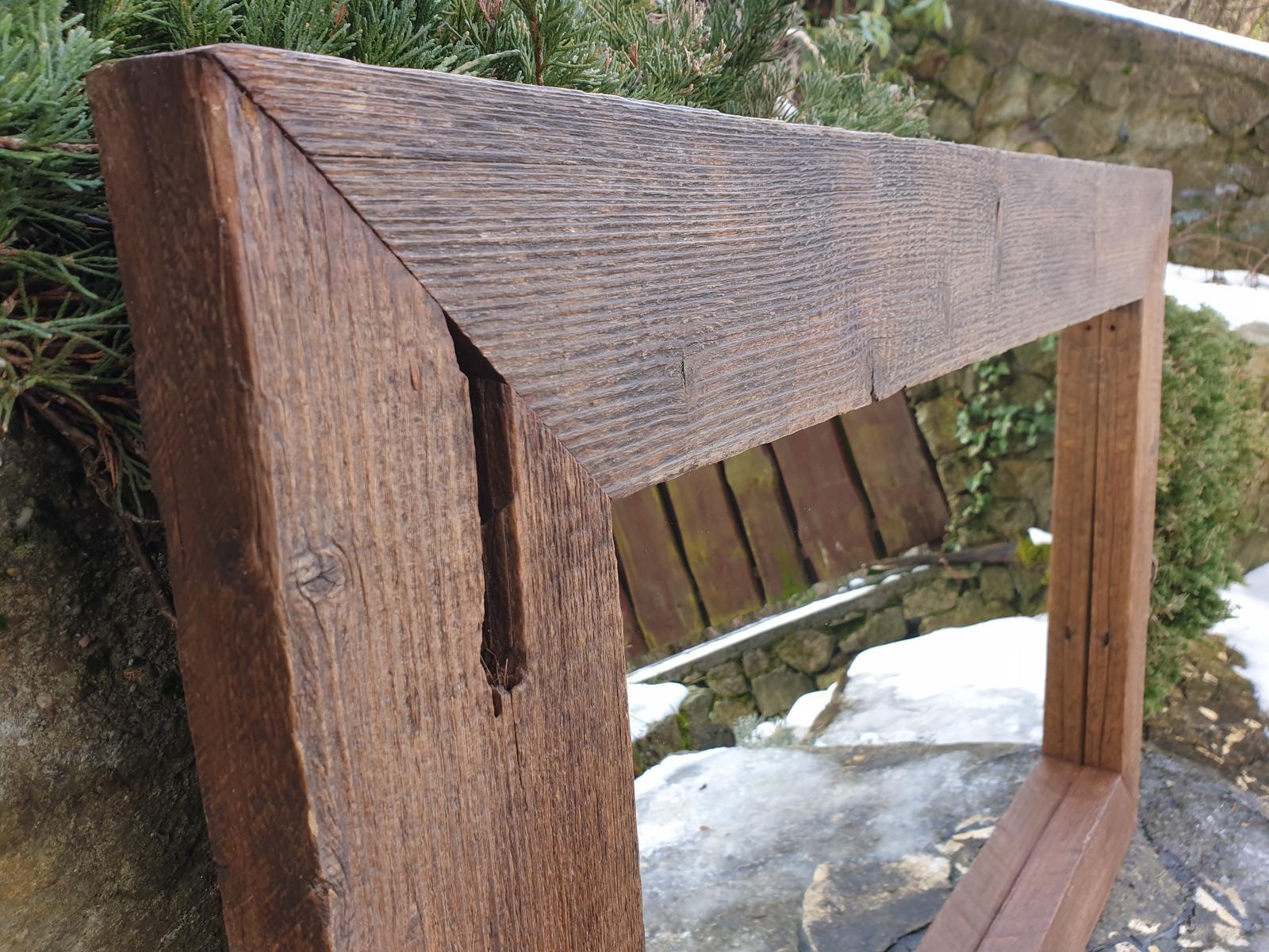 Zrkadlo zo starého dreva - Obrázok č. 3