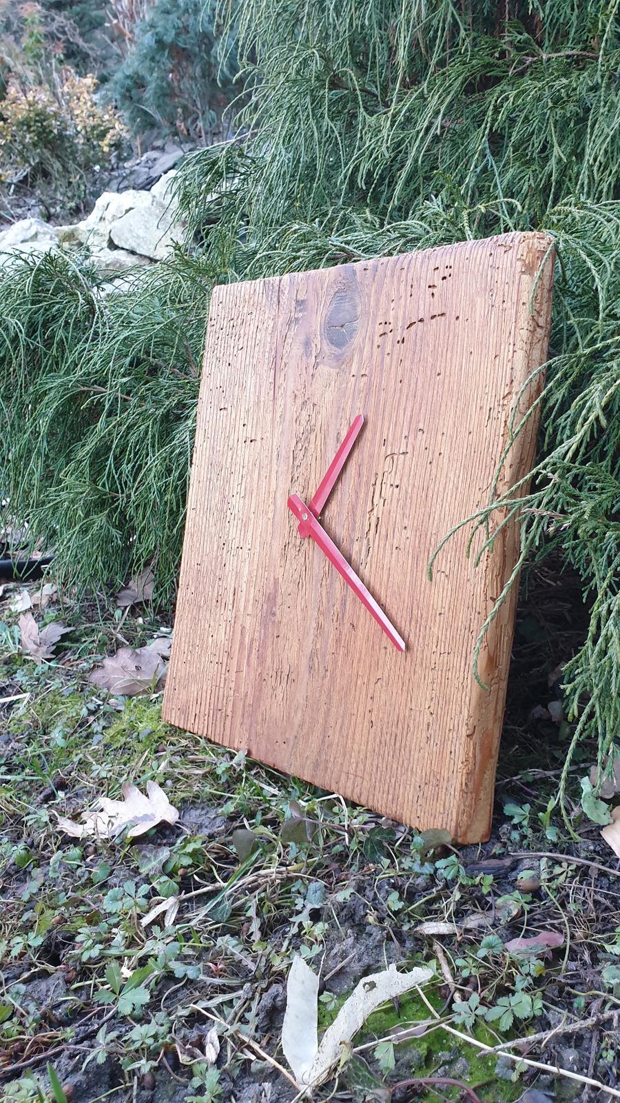 Hodiny z dreva - Obrázok č. 2