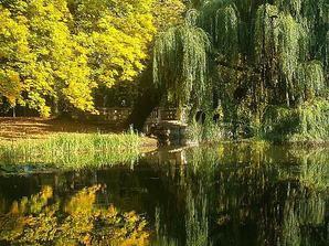 a ještě jedna fotečka u rybníčka, kde se chceme brát