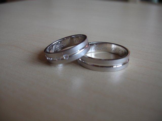 Maťko a Ivka:) 12.09.2009 - naše nádherné krúžky