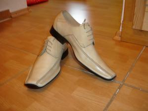 topánočky pre ženícha
