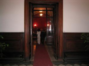 vstup na radnicu v Rime