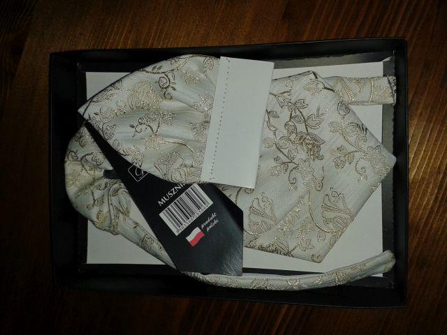 Francúzska kravata + vreckovka - Obrázok č. 1