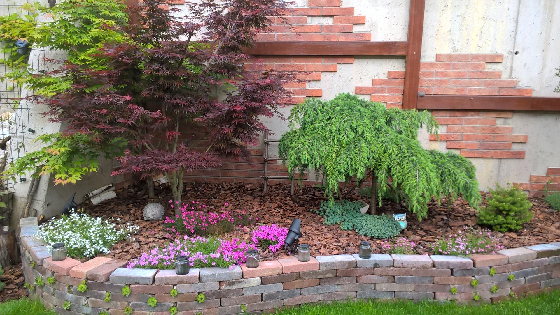 Malá záhradka - vyvýšený záhon