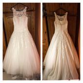 Justin Alexander 8630 svatební šaty, 38