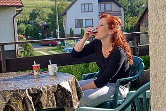 Snídaně, třetí káva a něco na posilněnou...