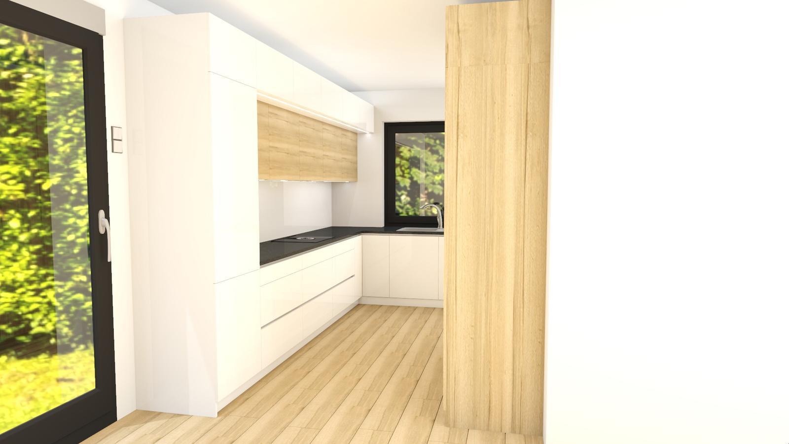 Navrh kuchyne - konecna verzia kuchyne, uf