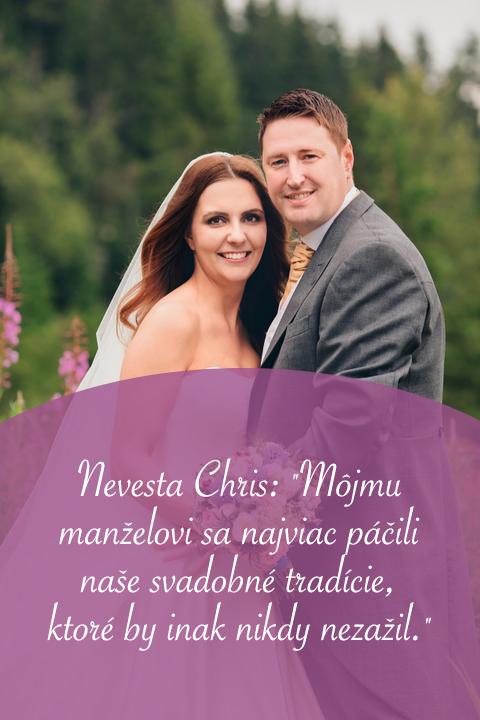 Nový rozhovor v magazíne! Tentokrát s našou nevestou @chris131313 o jej prekrásnej škótsko-slovenskej svadbe :) Prečítajte si ho na https://www.mojasvadba.sk/rozhovor-s-nevestou-chris/ #magazin - Obrázok č. 1