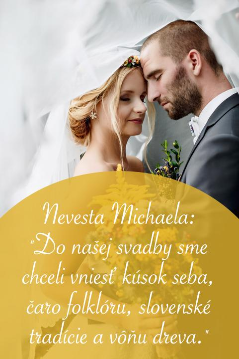 V tomto zimnom čase je včerajší rozhovor plný slnka a farieb o krásnej ľudovej svadbe priam neuveriteľný... Sme radi, že nevesty čoraz častejšie siahajú po ľudovej tematike a neváhajú ukázať to krásne čaro slovenských svadieb. Presne tak, ako to urobila aj @miselka456 :) Prajeme príjemné čítanie! https://www.mojasvadba.sk/rozhovor-s-nevestou-michaelou/ #magazin - Obrázok č. 1