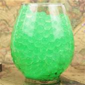 zelené vodní perly 200ks,