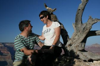 Byla jsem pozadana o ruku v Grand Canyonu, prekvapko pri nastaveni samospouste