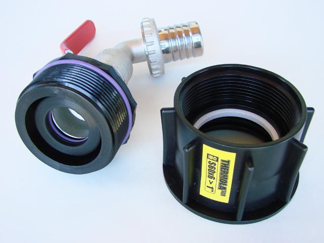 """Profi redukcia 1"""" guľový ventil na IBC nádrž 1000l - Obrázok č. 3"""