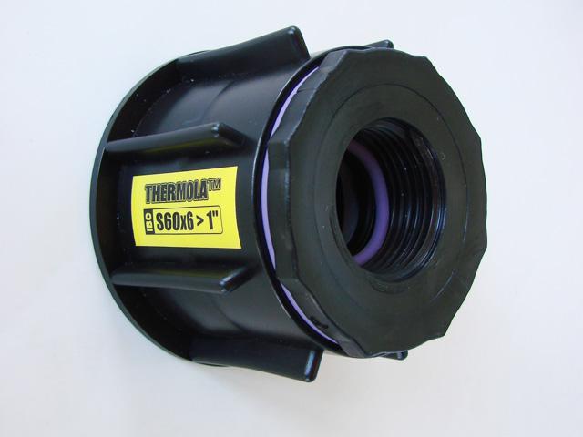 """Profi redukcia 1"""" guľový ventil na IBC nádrž 1000l - Obrázok č. 4"""