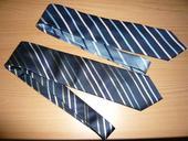 Prúžkované hodvábne kravaty,